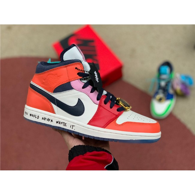 Mens/Womens Melody Ehsani x Air Jordan 1 Mid Fearless For Cheap
