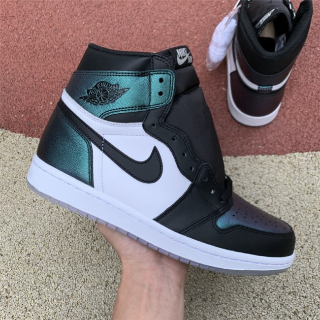 Mens Air Jordan 1 Retro High OG All Star-Chameleon