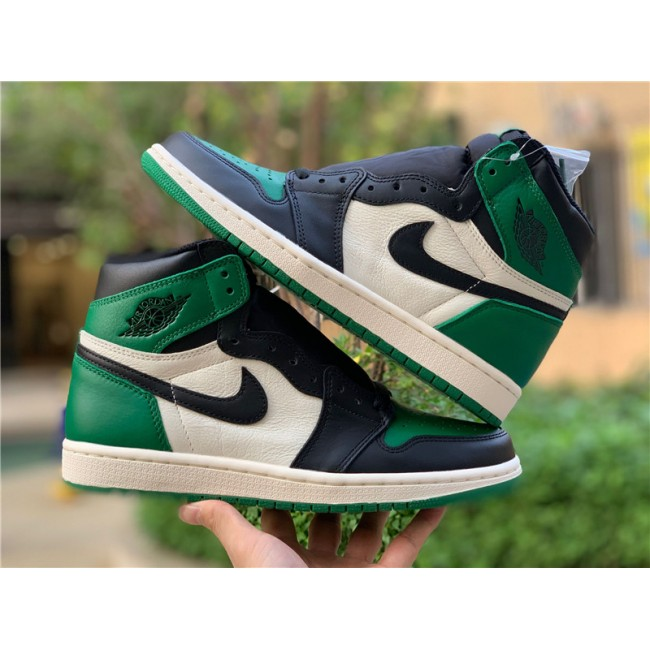 Mens Nike Jordan 1 Retro High Pine Green For Sale
