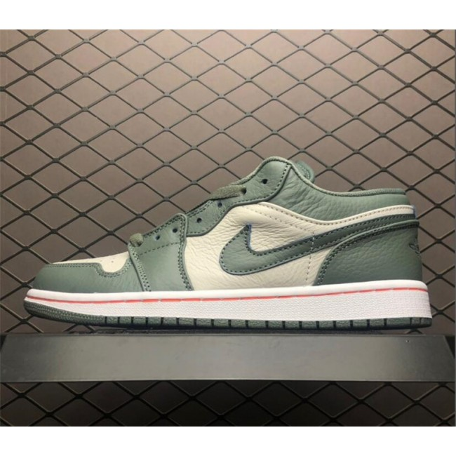 Mens Shop Air Jordan 1 Low Military Green Online