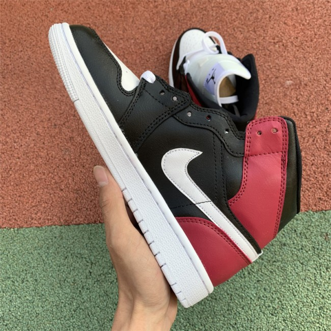 Womens Air Jordan 1 Mid Noble Red For Sale