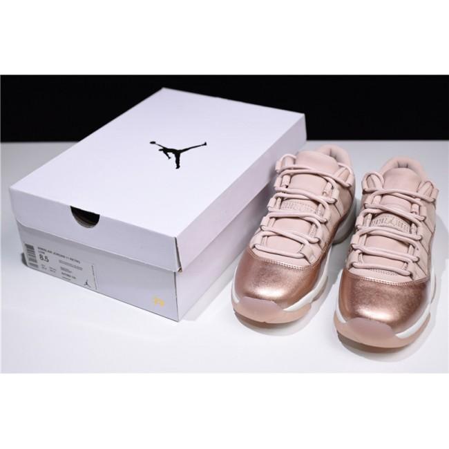 Mens/Womens Air Jordan 11s Retro Low Rose Gold