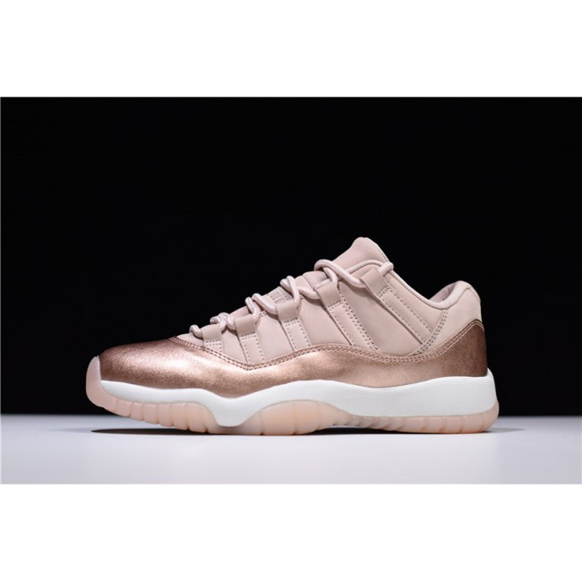 Mens/Womens Air Jordan 11s Retro Low Rose Gold