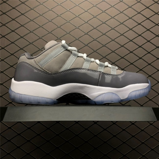 Mens 2019 Release Air Jordan 11 Retro Low Cool Grey