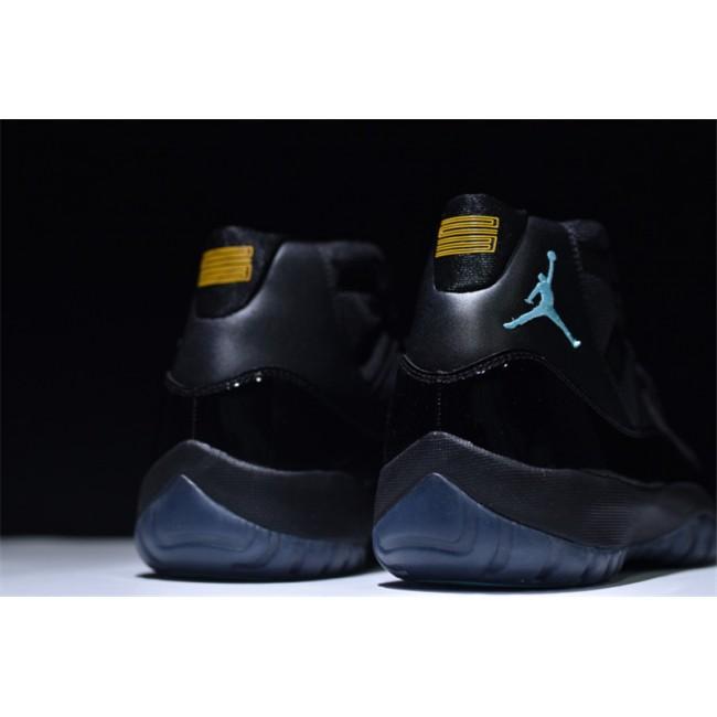 Mens Air Jordan 11 Retro Gamma Blue Black/Gamma Blue-Black