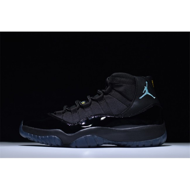 Mens Air Jordan 11 Retro Gamma Blue Black/Gamma Blue-Black
