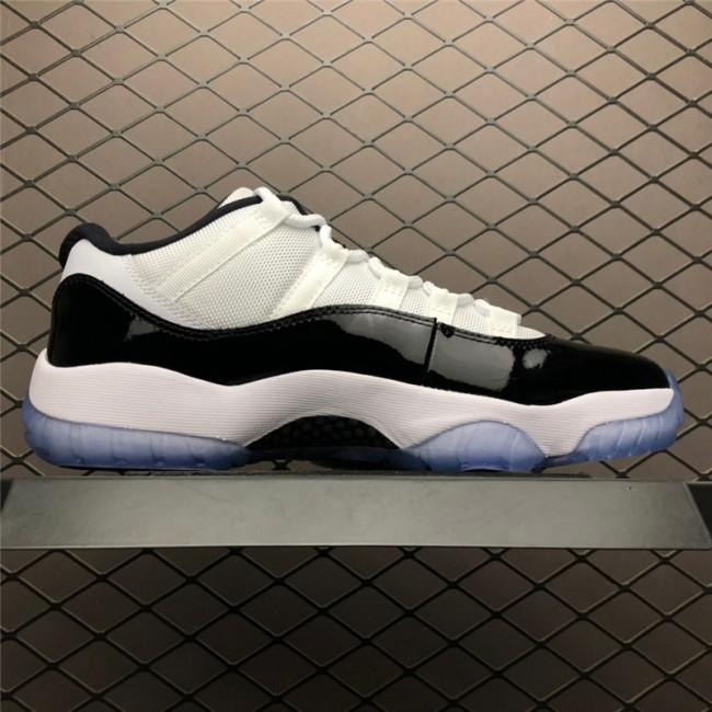 Mens Air Jordan 11 Retro Low Concord White/Black