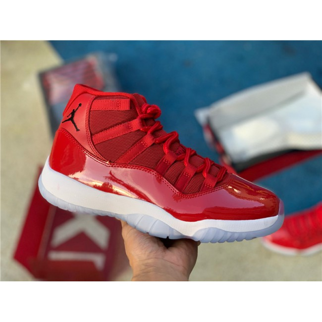 Mens Air Jordan 11 Retro Win Like 96 Gym Red/Black For Sale