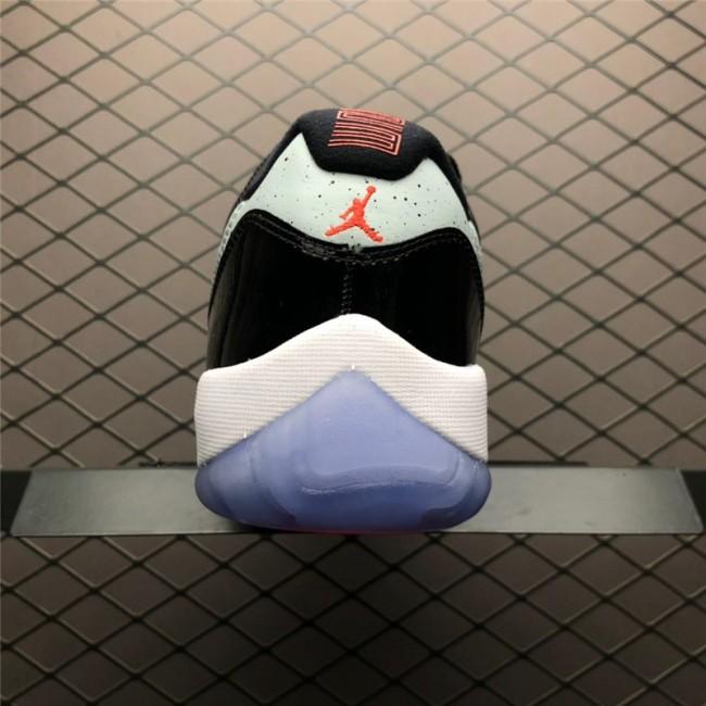 Womens Air Jordan 11 Retro Low Black/Infrared 23-Pure Platinum