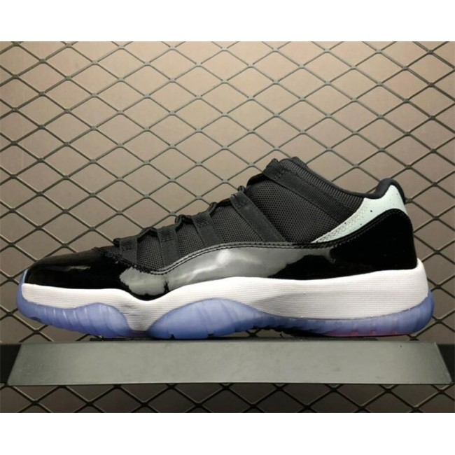 Womens Air Jordan 11 Retro Low Black/Infrared 23-Pure Platinum