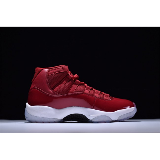 Mens Air Jordan 11 Win Like 96 Gym Red/White-Black Outlet