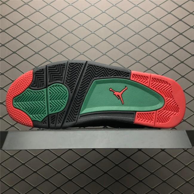 Mens Air Jordan 4 Retro NRG Do the Right Thing Black Gorge