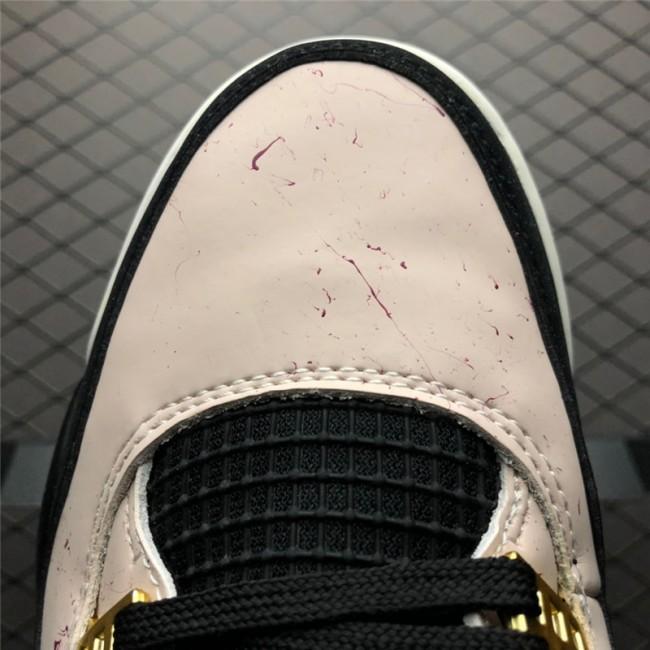 Mens Air Jordan 4 Silt Red Black-Phantom-Volt