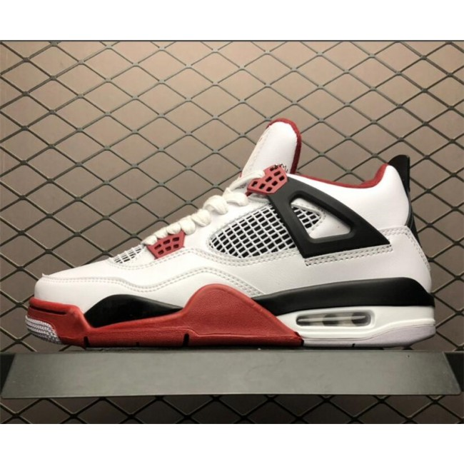 Mens Air Jordan 4 Fire Red 308497-160
