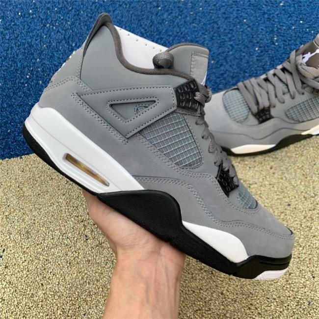 Mens Air Jordan 4 Cool Grey Sneakers New Sale