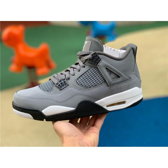 Mens Air Jordan 4 Cool Grey Sneakers New Sale