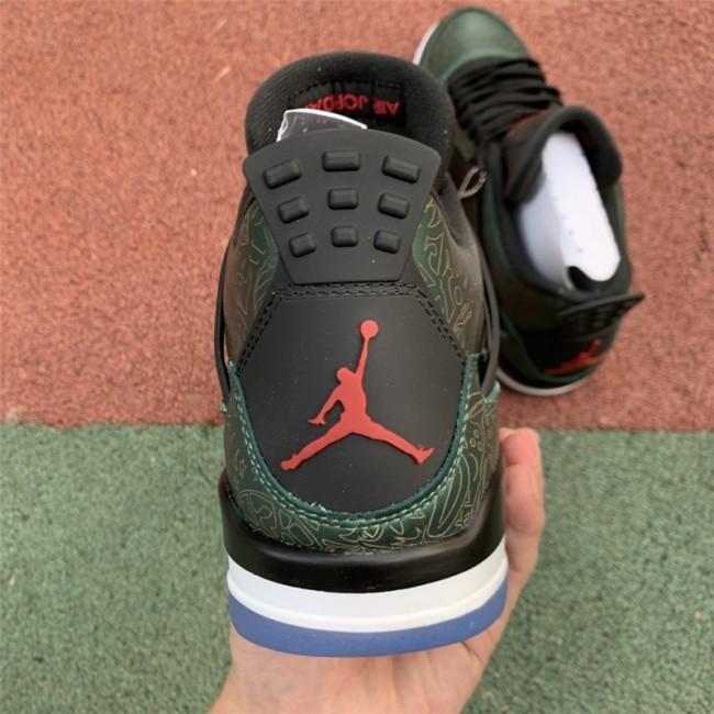 Mens Air Jordan 4 Laser Green White Men Size In Store