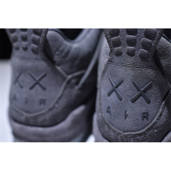 Mens New Release Kaws x Air Jordan 4 Retro Cool Grey White