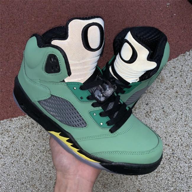 Mens/Womens Air Jordan 5 SE Oregon Ducks