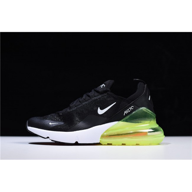 Mens/Womens Nike Air Max 270 Lace Mesh Black Green White