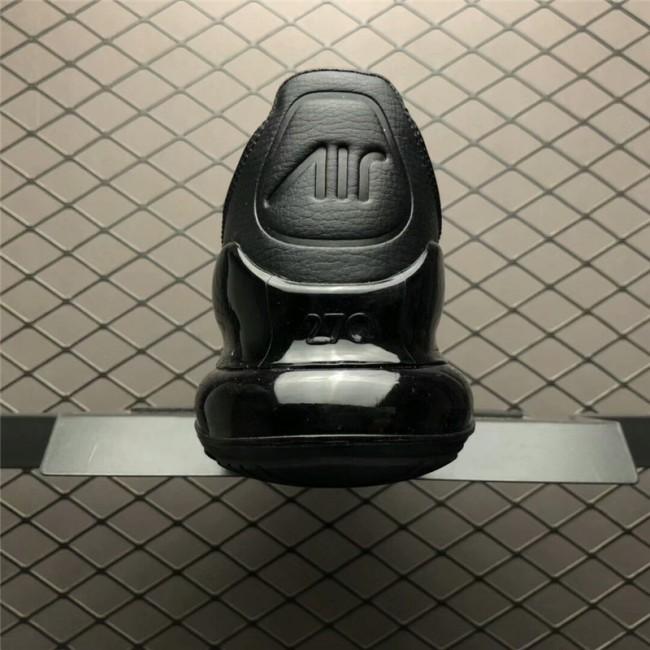 Mens Nike Air Max 270 Premium Black White AO8283-001 Shoes