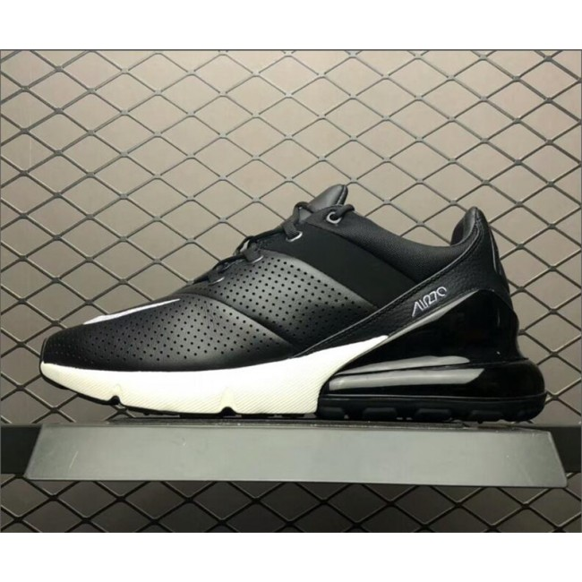 Mens Nike Air Max 270 Premium Black White AO8283-001 Shoes