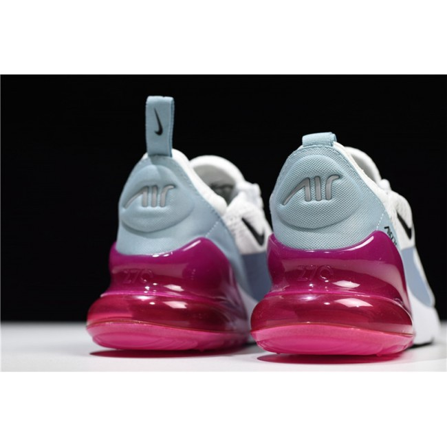 Womens Nike Air Max 270 Barely Grey Black Pumice Fuchsia