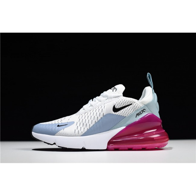 Womens Nike Air Max 270 Barely Grey Black Pumice Fuchsia