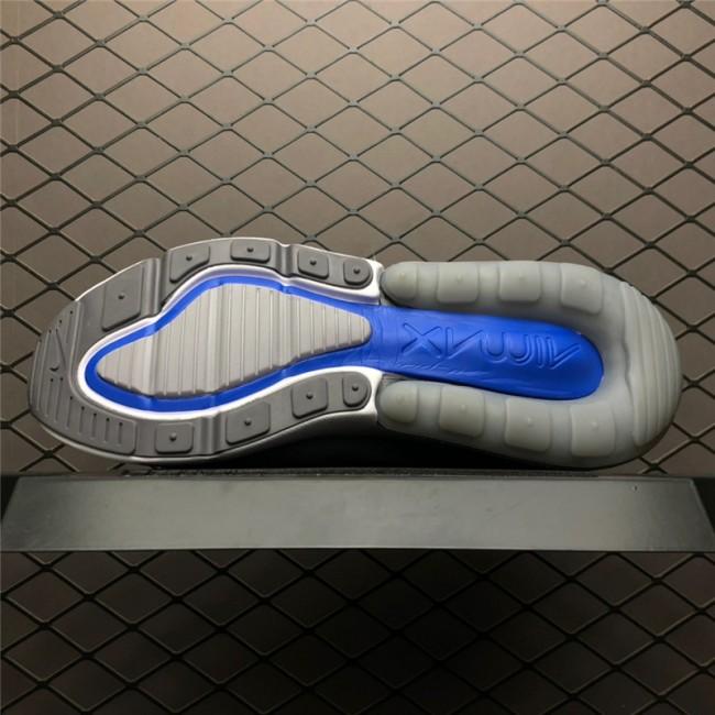 Mens Nike Air Max 270 Wolf Grey Game Royal-Cool Grey