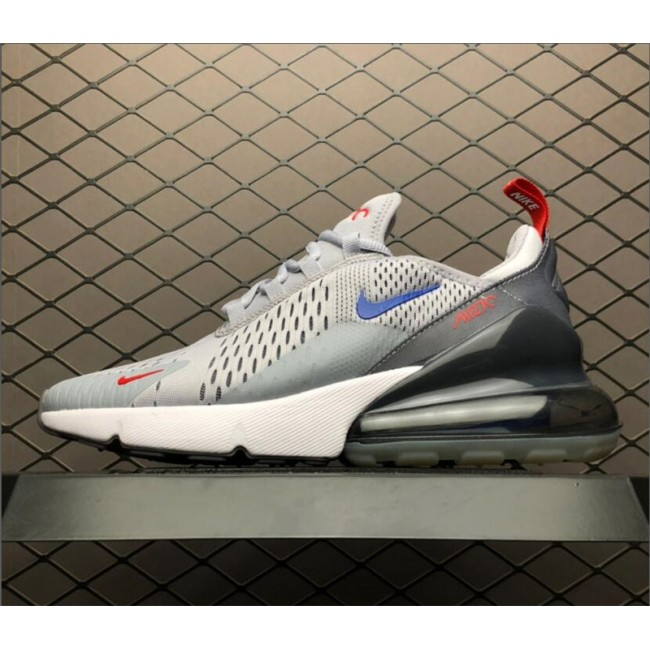 Mens Nike Air Max 270 Wolf Grey Game Royal-Cool Grey