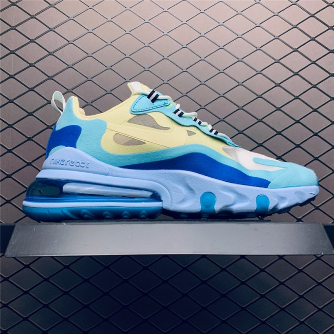 Mens Nike Air Max 270 React Hyper Jade Outlet Online
