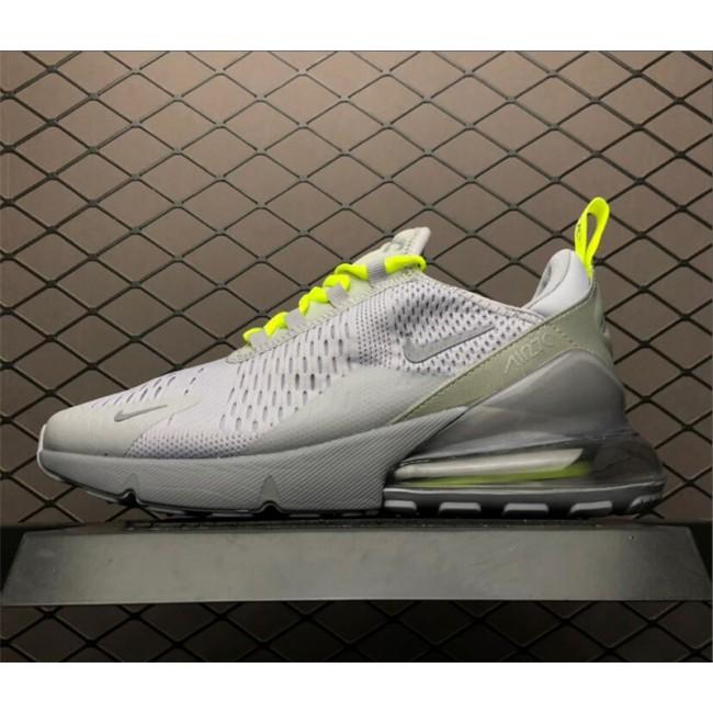 Mens Nike Air Max 270 Wolf Grey Volt-Reflect Silver