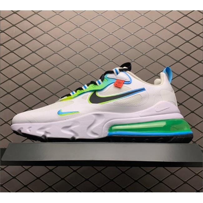 Mens/Womens Nike Air Max 270 React SE Worldwide Pack White