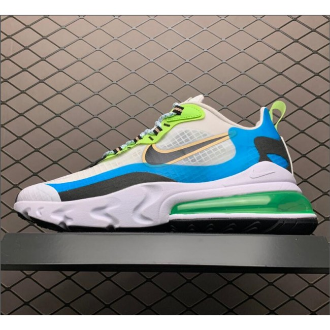 Mens Nike Air Max 270 React Oracle Aqua CT1265-300