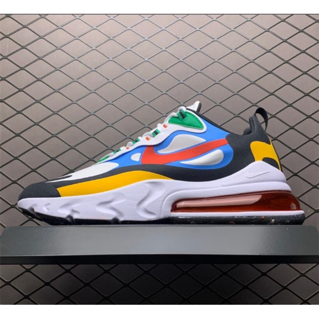 Mens/Womens Nike Air Max 270 React Multi-Color Shoes DA2610-161