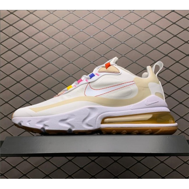 Womens Nike Air Max 270 React LA Edition Pale Ivory Pale Vanilla
