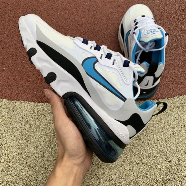 Mens/Womens Nike Air Max 270 React Sky Blue CT1280-101