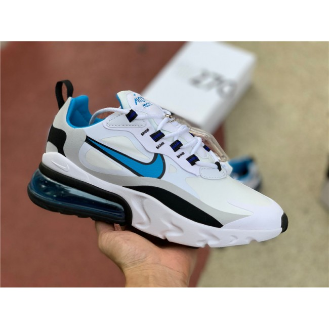 Mens/Womens Nike Air Max 270 React Sky Blue CT1280-101