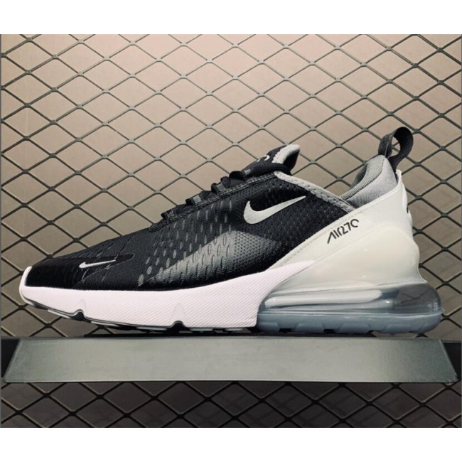 Mens/Womens Grade School Nike Air Max 270 Black Metallic Silver