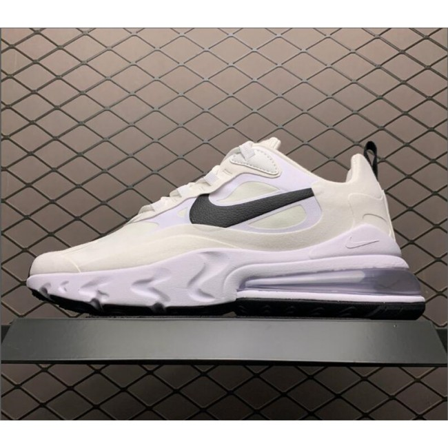 Mens/Womens Grade School Nike Air Max 270 React White Black Shoes
