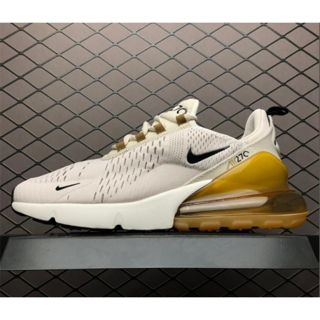 Mens Nike Air Max 270 Light Orewood Brown Black