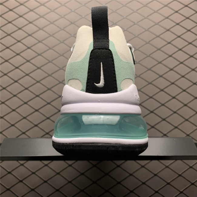 Mens Nike Air Max 270 React White Blue Black On Sale