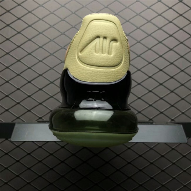 Mens Nike Air Max 270 Premium String Desert Ochre-Neutral Olive