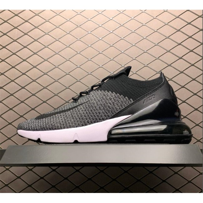 Mens/Womens Nike Air Max 270 Flyknit Oreo Black White