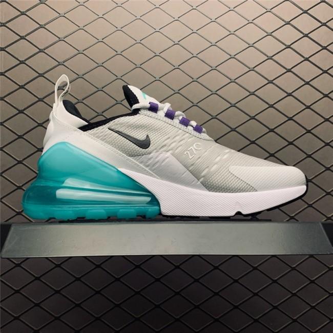Womens Nike Air Max 270 GS Platinum Jade On Sale