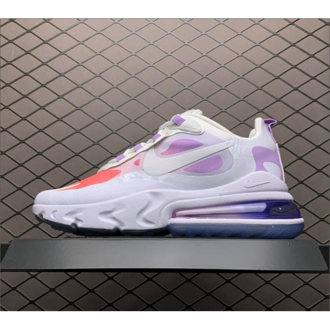 Womens Nike Air Max 270 React CNY Light Purple Shoes