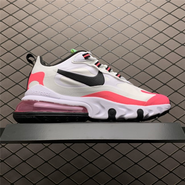 Womens Nike Air Max 270 React Hyper Pink Running Shoes