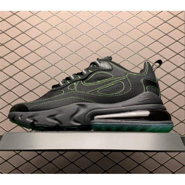 Mens Nike Air Max 270 React SP Black Electric Green