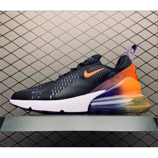 Mens/Womens Nike Air Max 270s Gradient-Heeled Black