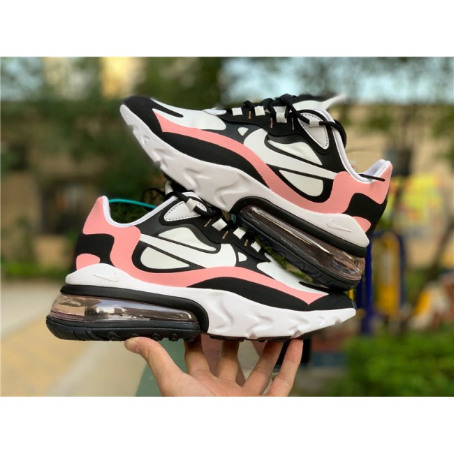 Womens Nike Air Max 270 React Bleached Coral On Sale